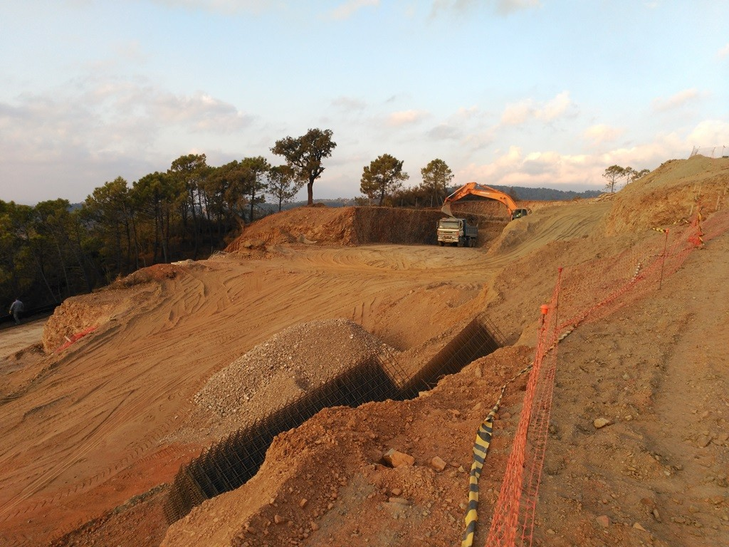 Marbella Club Hills Progress