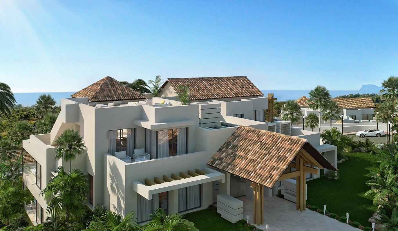 Marbella Club Hills New Developement in Benaharvis New Development with view to the sea