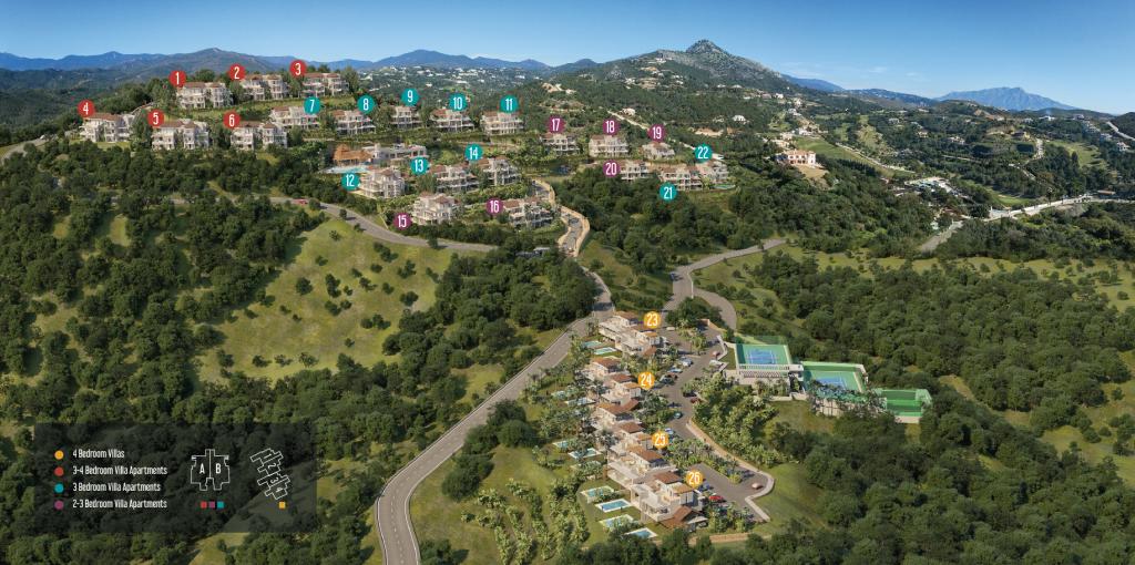 Marbella Club Hills - Master Plan