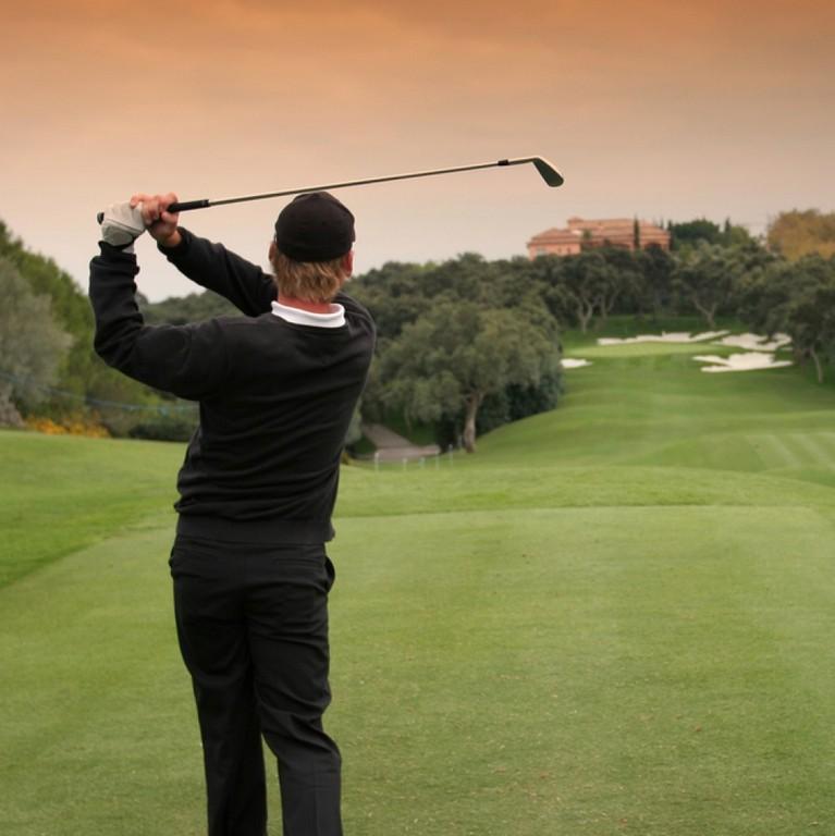Valderrama golf player marbella club hills