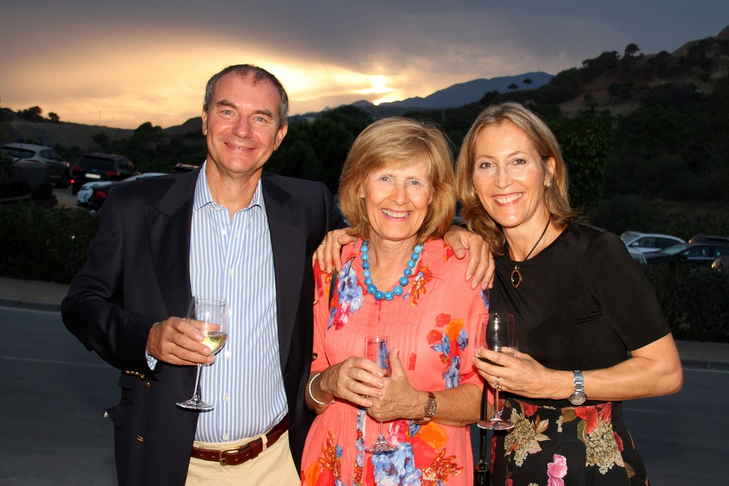 Marbella Club Hills Property Development Office Opening Party