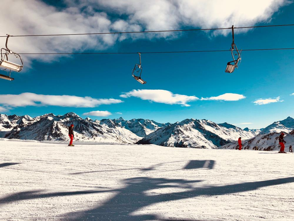 Sierra Nevada - ski resort in south of Spain