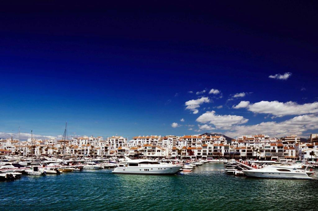 puerto banus, coast, yachts, marbella