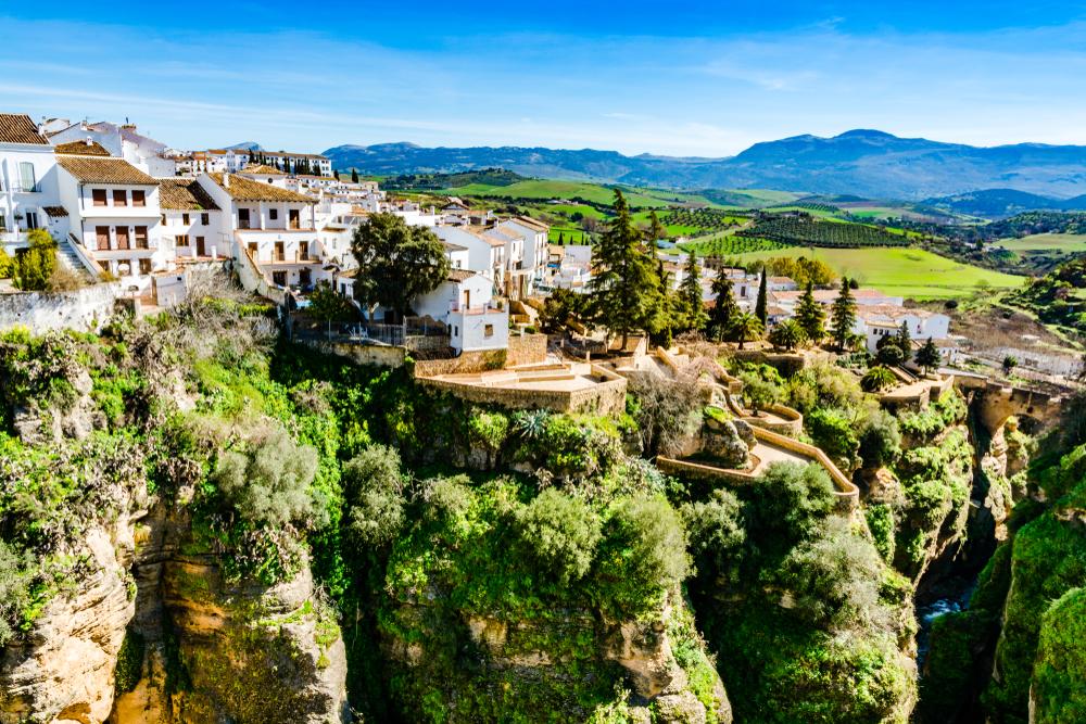 Pueblo Blanco Ronda Málaga pueblo blanco