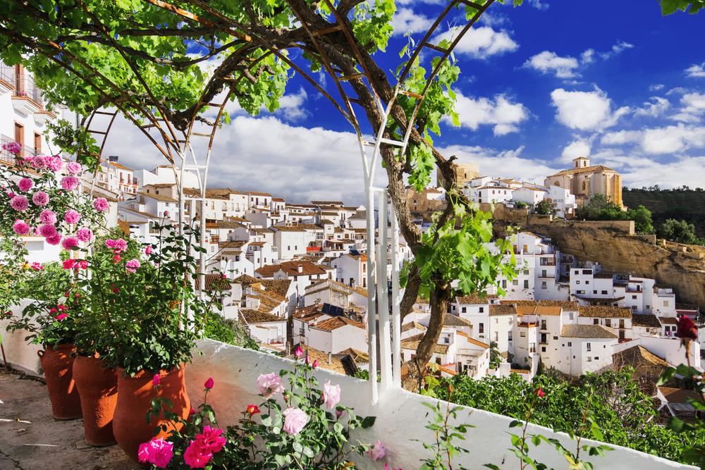 Setenil de las Bodega, Málaga Andalusia