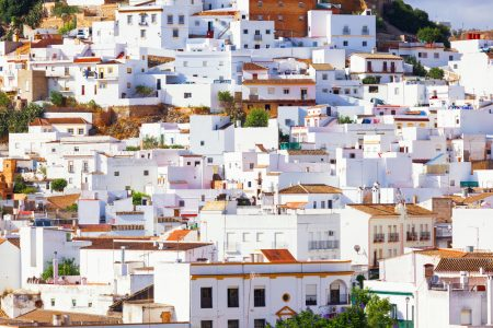 Arcos de la Frontera pueblo blanco white city of Andalusia