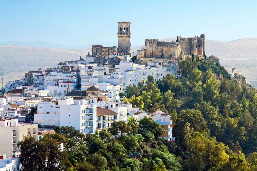 Arcos de la Frontera white city of Andalusia