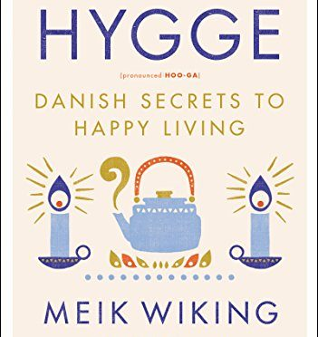 Hygge book cover - Danish secrets to how to happy living