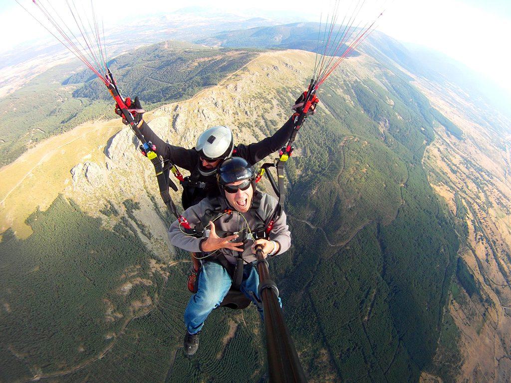 Paragliding in El Chorro