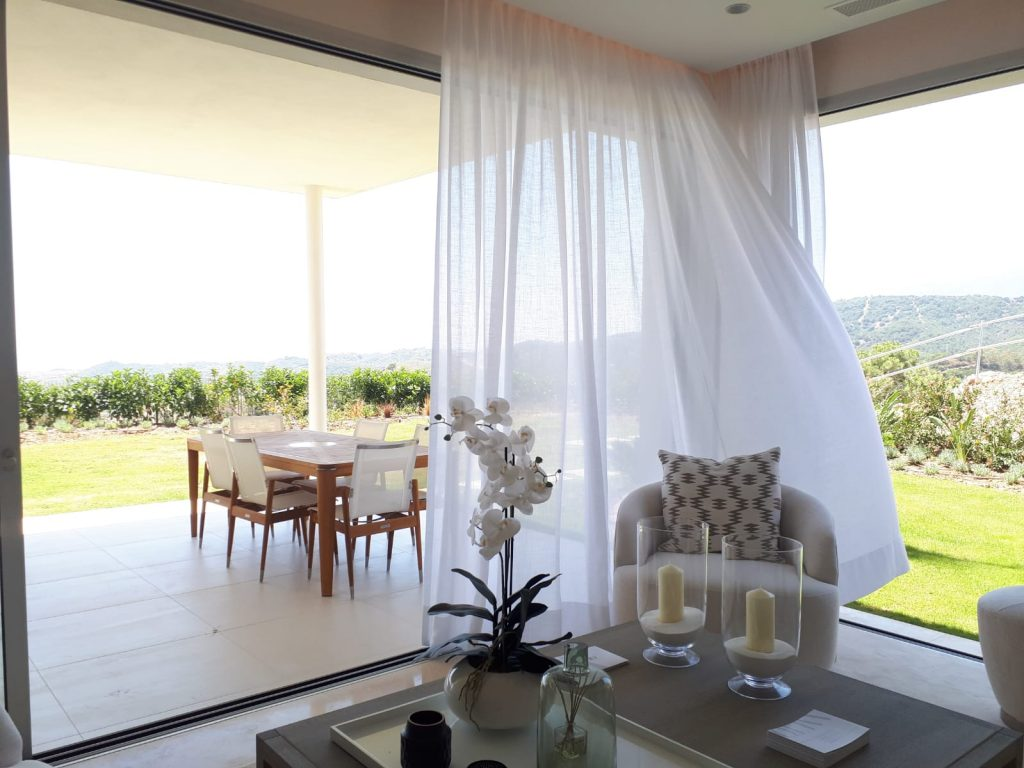 Slow living terrace new build Benahavis