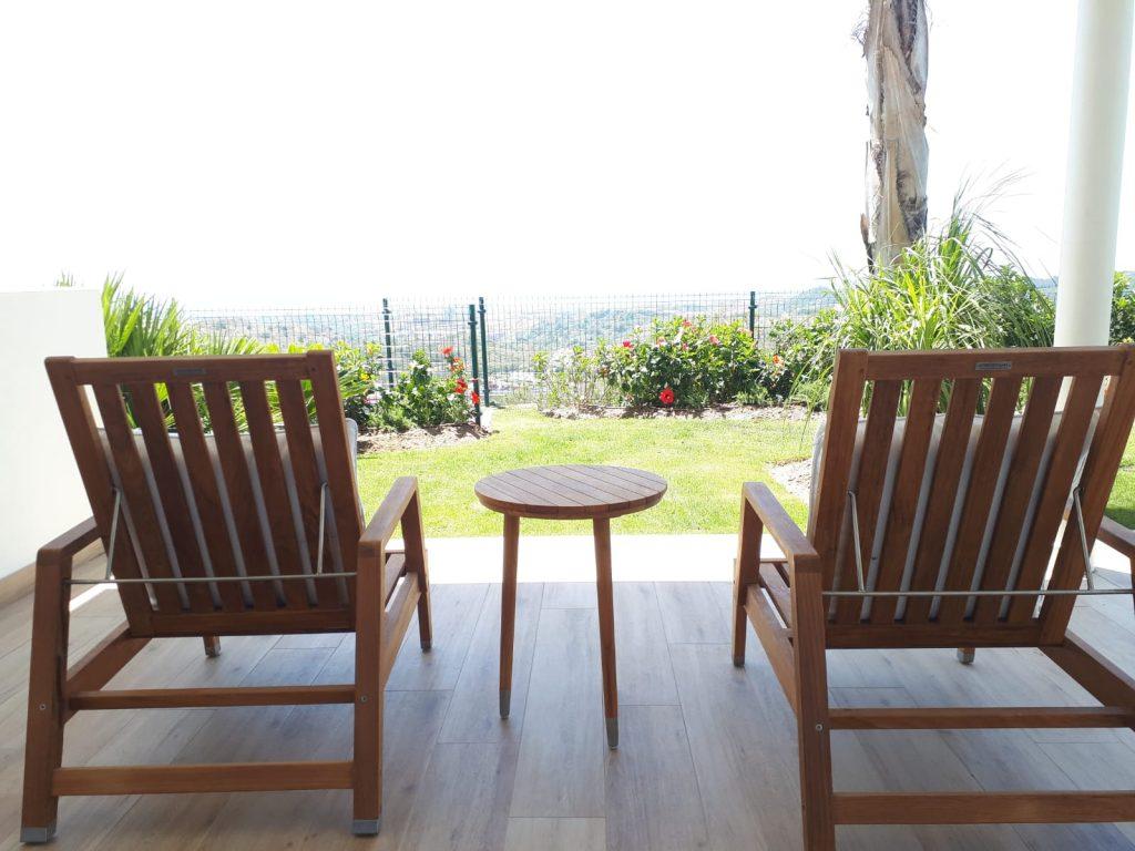 Slow living terrace marbella club hills