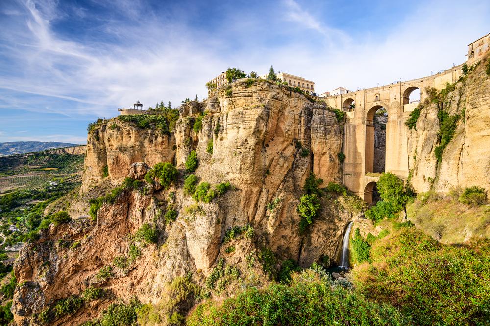 Andalusia Ronda Puente Nuevo