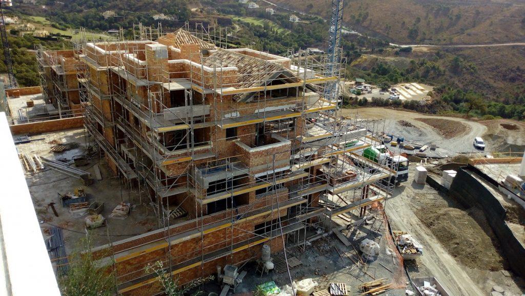 Construction Progress Marbella Club Hills