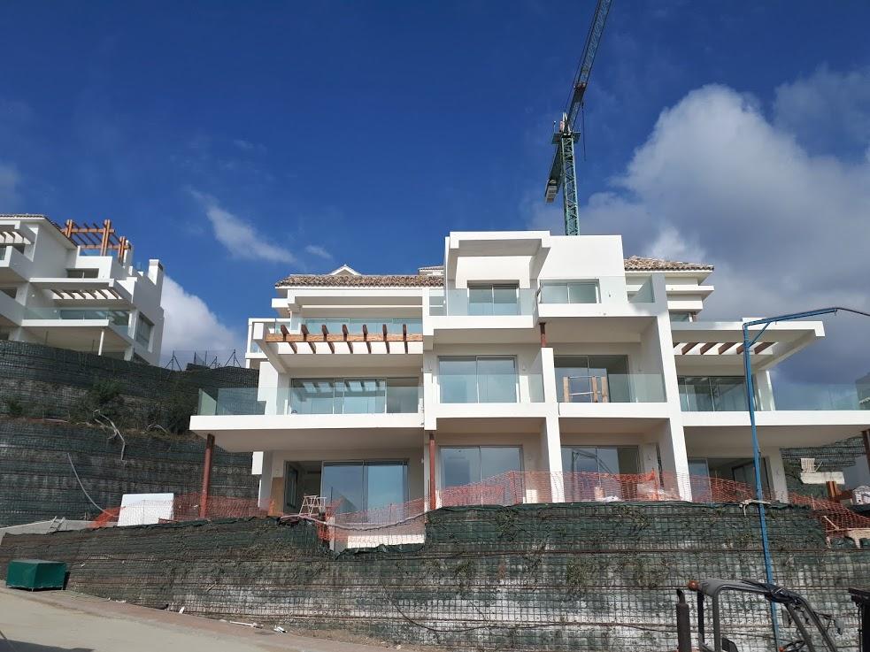 Construction progress February