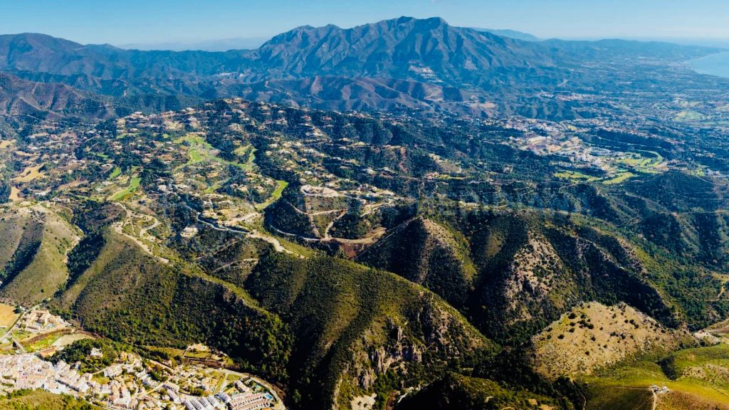 Benahavís small town Andalusia