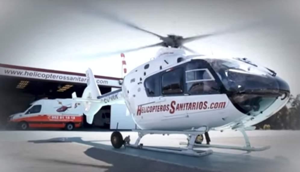 helicopters sanitarios marbella