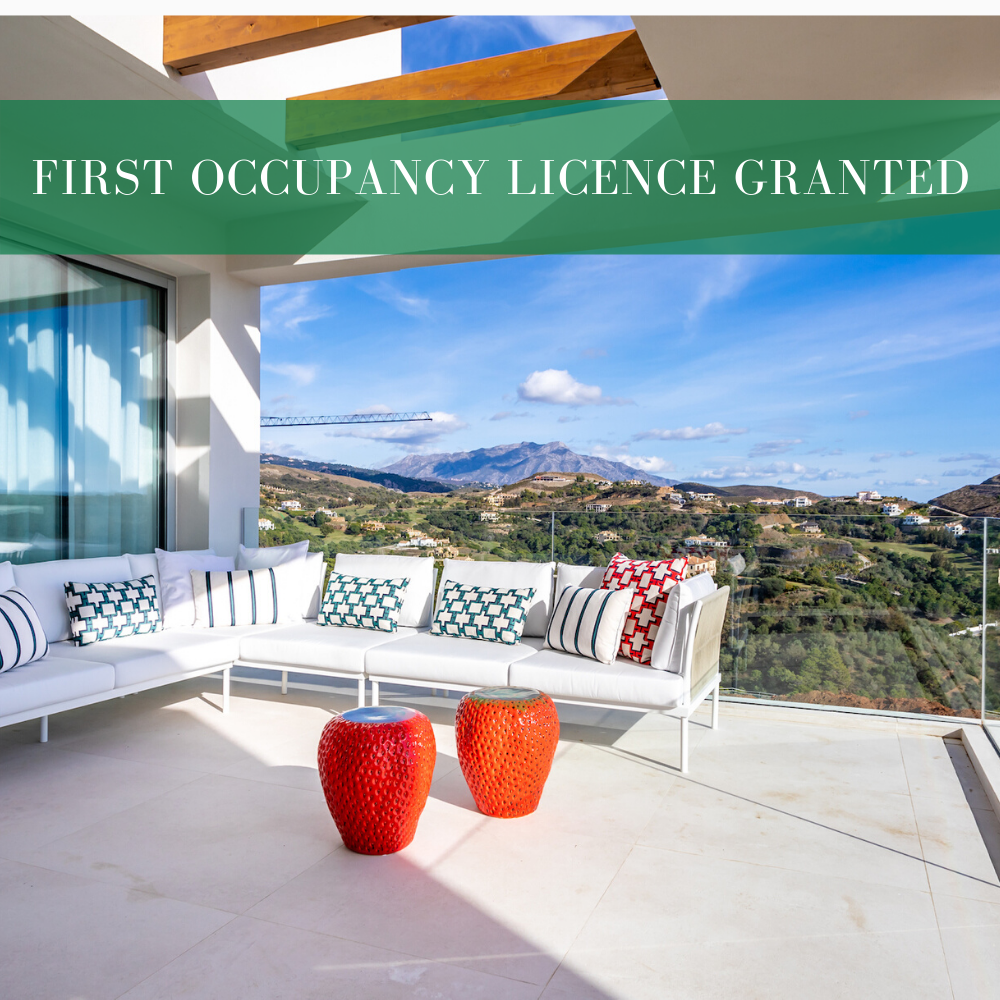 First occupancy licence granted